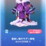 ポケコロガチャ椿鬼屋敷の垂り雪(ファッション006着崩し椿のモダン着物)