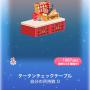 ポケコロスクラッチデリシャスクリスマス(011タータンチェックテーブル)