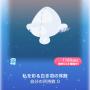 ポケコロガチャトゥオネラの白鳥(小物008私を彩る白き羽の耳飾)