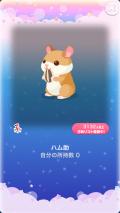 ポケコロガチャ春待ちハムスター(010【インテリア】ハム助)