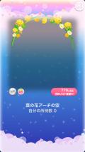 ポケコロガチャ菜の花ピクニック(004【コロニー】菜の花アーチの空)