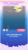 ポケコロガチャ月夜の見習い忍者修行(003【コロニー】月夜の水遁の術修行の空)
