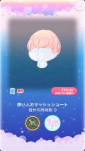 ポケコロ福袋シュシュブランシュ(025【ファッション】想い人のマッシュショート)