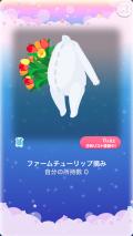 ポケコロガチャ春風チューリップファーム(017【小物】ファームチューリップ摘み)