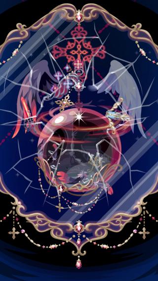 ポケコロガチャ漆黒の堕天使(コロニー見本)