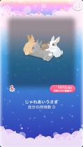 ポケコロガチャいっぱいうさぎ(009【インテリア】じゃれあいうさぎ)
