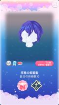 ポケコロガチャ織姫と星渡りの夜(ファッション&小物005彦星の紫藍髪)