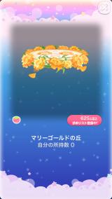 ポケコロガチャ6月姫のお誕生日(009【コロニー】マリーゴールドの丘)