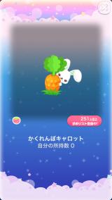 ポケコロガチャワンダーイースター(コロニー009かくれんぼキャロット)
